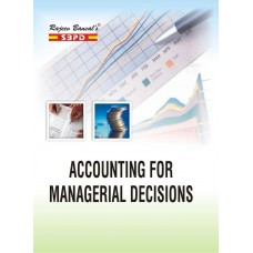 Accounting For Managerial Decisions (2019-20) - SBPD Publications