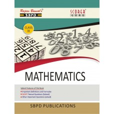 Mathematics Class IX (2019-20) - SBPD Publications