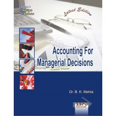 Accounting For Managerial Decisions (2018-19)