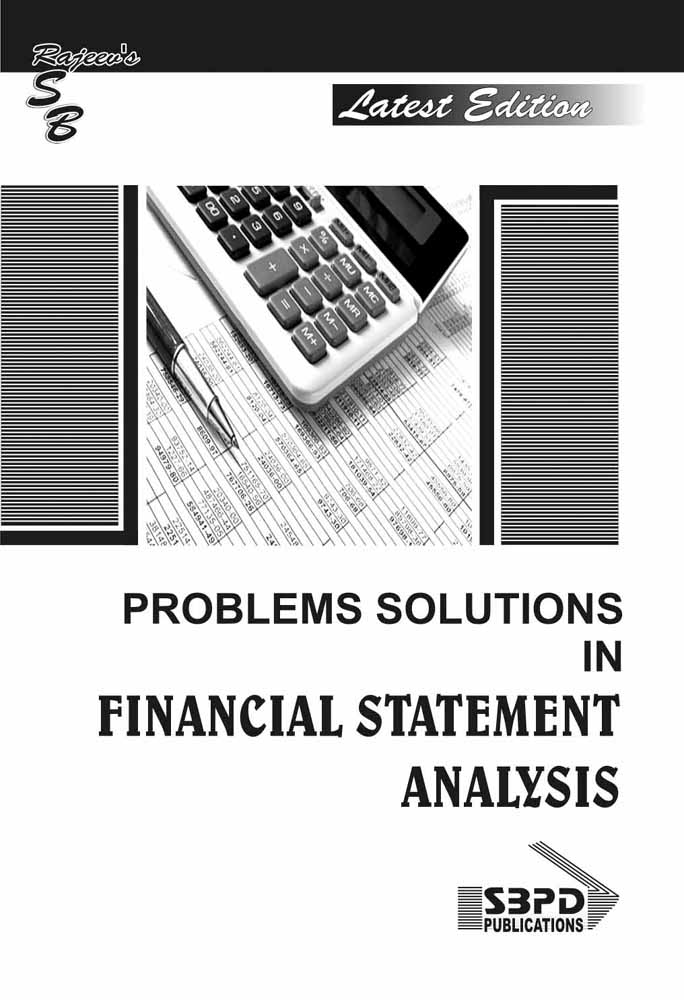 Problems & Solutions In Financial Statement Analysis