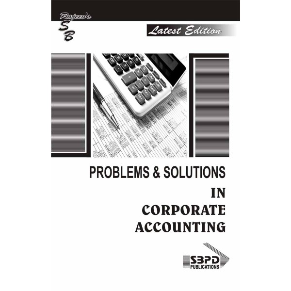 Problems & Solutions In Corporate Accounting
